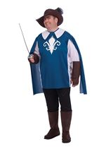 Musketeer Plus Men Costume