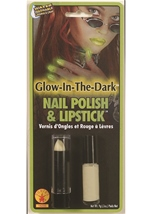 Glow In Dark Nail Polish And Lipstick