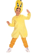 Kids Looney Tunes Tweety Costume