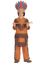 Native American Boys Deluxe Costume