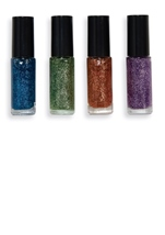 All ages Blue Glitter Secret Wishes Nail Polish