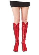 Spider Girl Woman Boot Tops