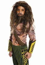 Kids Aquaman Beard and Wig Set
