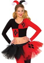 Harley Quinn Tutu Woman Skirt