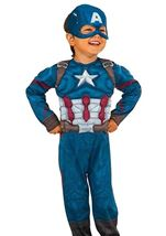 Marvel Captain America Muscle Chest Toddler Costume