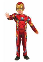 Marvel Iron Man Muscle Chest Toddler Costume