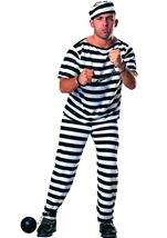 Prisoner Men Costume