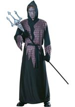 Mortar Scary Robe Men Costume