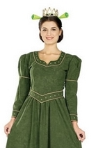 Fiona Princess Shrek Woman Costume