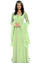 Queen Arwen Lord Of Rings Woman Costume
