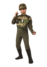 Commando Squad Boys Army Soldier Recon Deluxe Costume