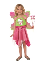 Hello Kitty Girls Butterfly Costume