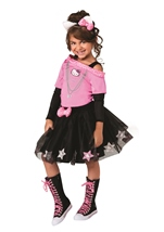 Hello Kitty Girls Rock Star Costume