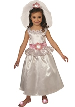 Hello Kitty Girls Bride Costume