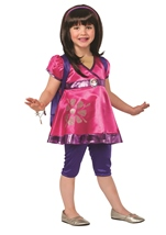 Dora and Friends Dora Deluxe Girls Halloween Costume