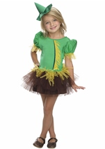 The Wizard of Oz Scarecrow Girls Costume