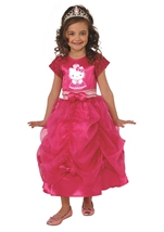 Hello Kitty Girls Princess Costume