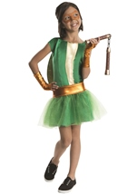 Michaelangelo Ninja Turtle Girls Costume