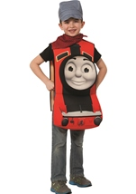 James Deluxe 3D Boys Thomas And Friends Costume
