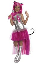 Catty Noir Girls Monster Costume With Wig