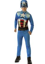 Captain America Boys Avenger Costume