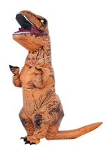 Inflatable Kids T Rex Boys Costume