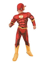 Flash 3D Muscle Chest Boys Costume