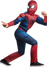 Spiderman Boys Muscle Chest Costume