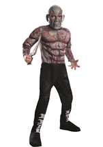 Drax The Destroyer Deluxe Boys Guardians Of Galaxy Costume