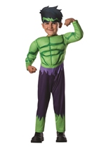 Hulk Toddler Boys Deluxe Costume
