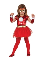 Little Rescue Girls Super Hero Iron Man Girls Tutu Costume