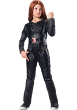 Black Widow Girls Deluxe Costume