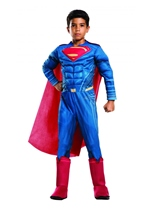 Superman Muscle Deluxe Boys Dawn Of Justice Costume