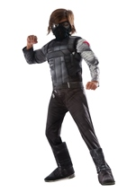 Winter Soldier Muscle Chest Boys Costume