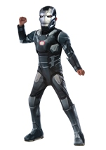 War Machine Muscle Chest Boys Costume