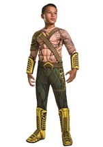 Aquaman Deluxe Boys Dawn Of Justice Costume
