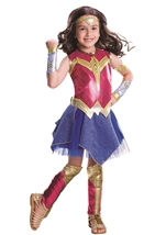 Wonder Woman Girls Deluxe Dawn Of Justice Costume