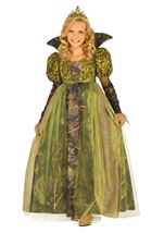 Forest Queen Girls Costume