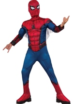 Homecoming Spider Man Deluxe Muscle Boys Costume