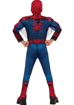 Kids Homecoming Spider Man Deluxe Muscle Boys Costume