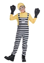 Kids Jail Minion Tom Boys Costume