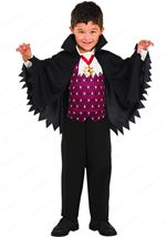 Little Vampire Boys Costume