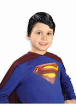 Superman Vinyl Boys Wig