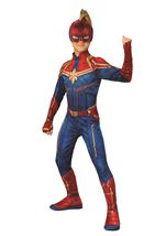 Captain Marvel Girls Hero Costume