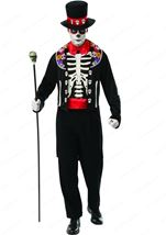Scary Day Of The Dead Man Costume
