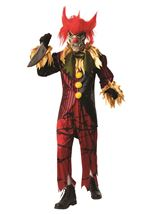 Crazy Clown Men Deluxe Costume