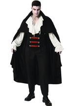 Elegant Vampire Men Costume