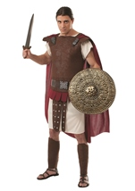 Roman Soldier Men Medieval Warrior Costume