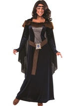 Dark Lady Women Renaissance Queen Costume