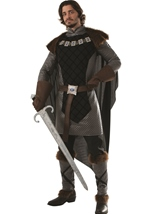 Dark Prince Men Renaissance King Costume